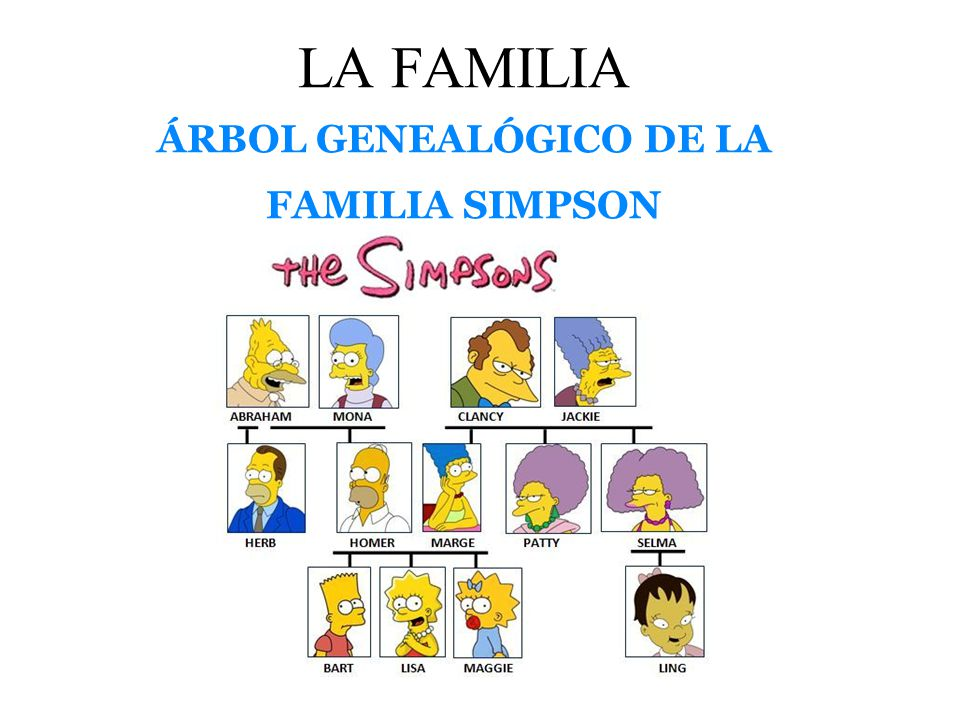 la familia simpson en español