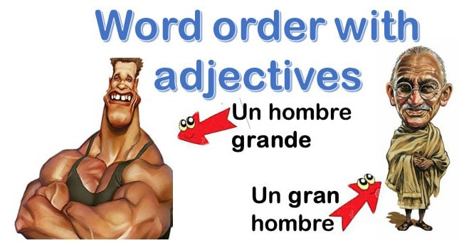 Word order with adjectives in Spanish