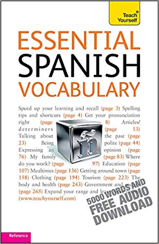 Soanish bookshop: Essential Spanish Vocabulary