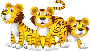 Tres, tristes tigres... Trabalenguas