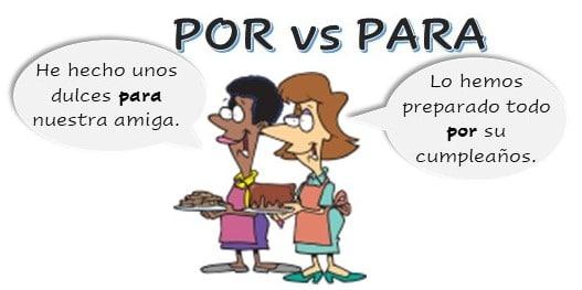 POR and PARA differences